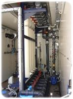 Potable Water Treatment of Containerised UF Plants